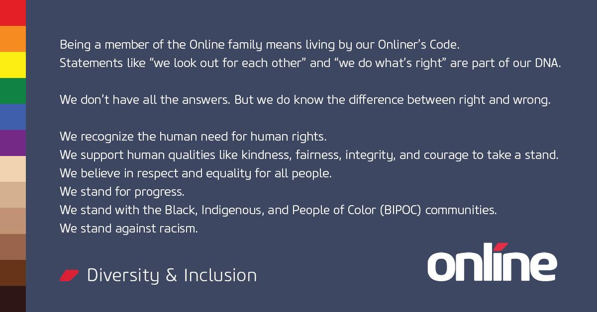 Diversity & Inclusion - Social Media