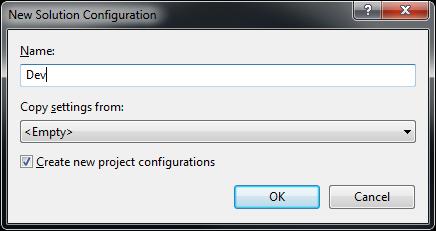 Environment Configurations