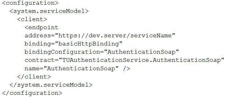 web.config node