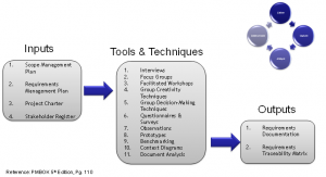 Step 3: Use PMBOK's Collect Requirements' Tools & Techniques