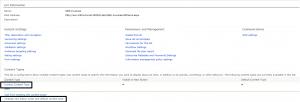 Invoice Content Type