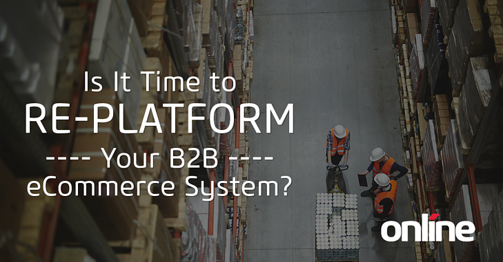 It It Time to Re-Platform Your eCommerce System