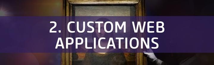 MonaLisa banner custom web application space