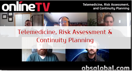 Telemedicine Risk Assessment and Business Continuity