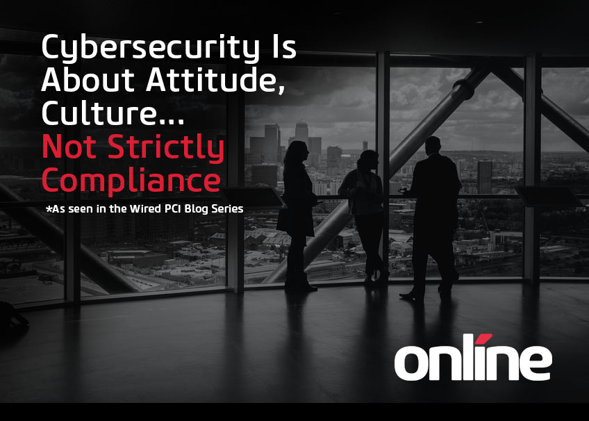 Cybersecurity is more than compliance - blog
