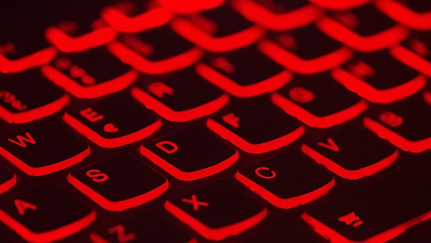 red-keypad