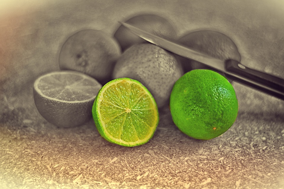 sliced-limes